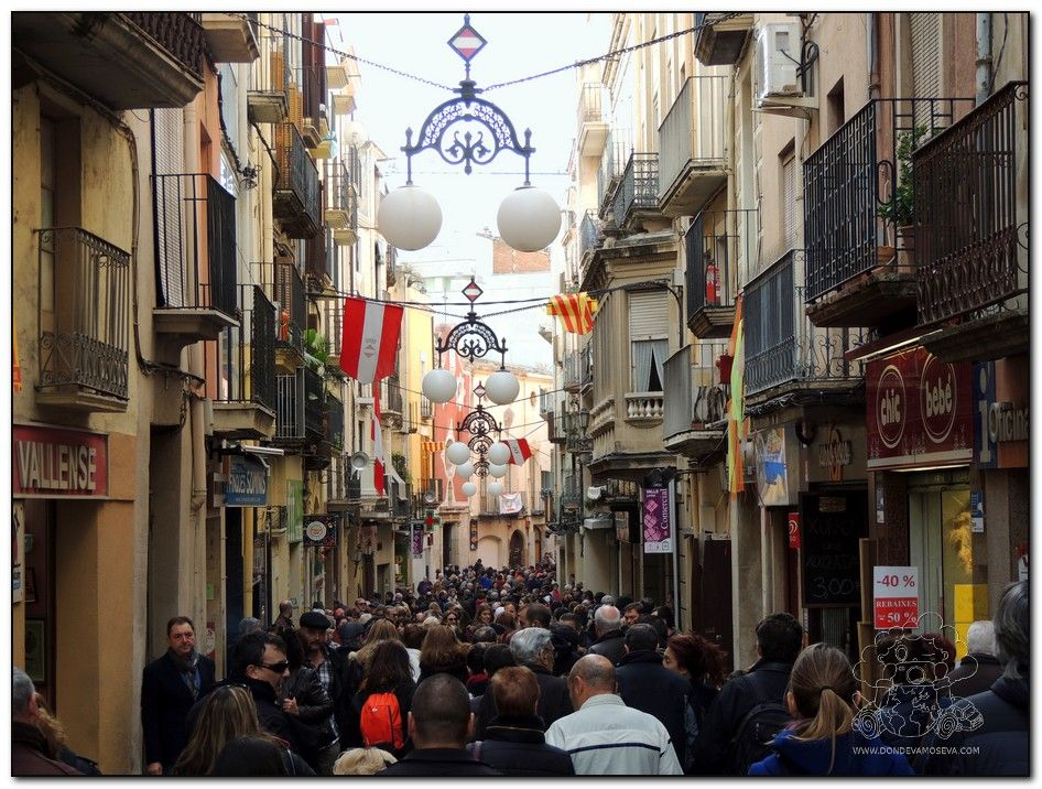 Calle Mayor de Valls